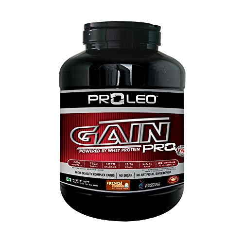 Proleo Gain Pro Mass Gainer (3Kg / 6.61lbs, Vanilla)