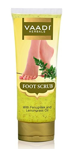 Vaadi Herbals With Fenugreek & Lemongrass Oil Foot Scrub (110gm)