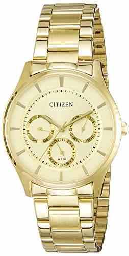 Citizen AG8352-59P Analog Gold Dial Men's Watch