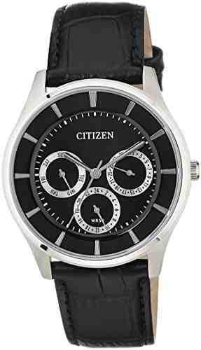 Citizen AG8350-03E Analog Black Dial Men's Watch