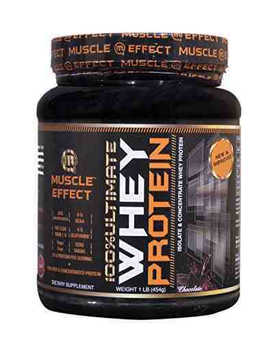 Muscle Effect Ultimate 100 % Whey Protein Supplement (454gm, Chocolate)
