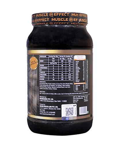 Muscle Effect Ultimate 100 % Whey Protein Supplement (908gm, Chocolate)
