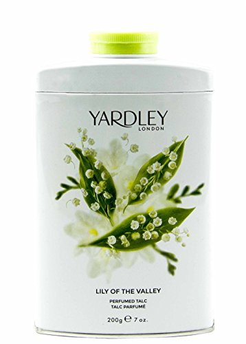 Yardley London Lily Of The Valley Perfumed Talc, 200 GM