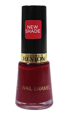 Revlon Nail Enamel, 8 ML 487 Raven Red