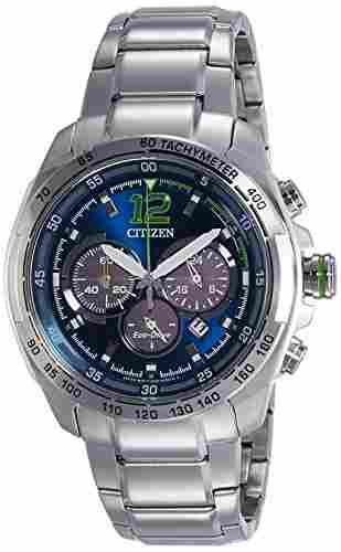 Citizen Eco-Drive CA4230-51L Chronograph Blue Dial Men's Watch (CA4230-51L)