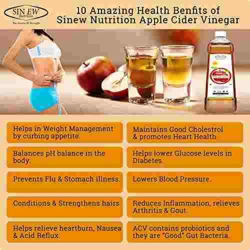 Sinew Apple Cider Vinegar (500 ml)