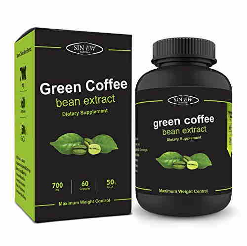 Sinew Nutrition Green Coffee Beans Extract Supplement (60 Capsules)