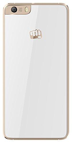 Micromax Canvas Knight 2 E471 (Micromax E471) 16GB White-Champagne Mobile