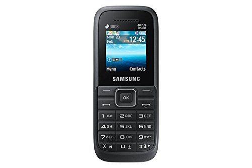 Samsung Guru FM Plus (Samsung SM-B110E/D) Black Mobile