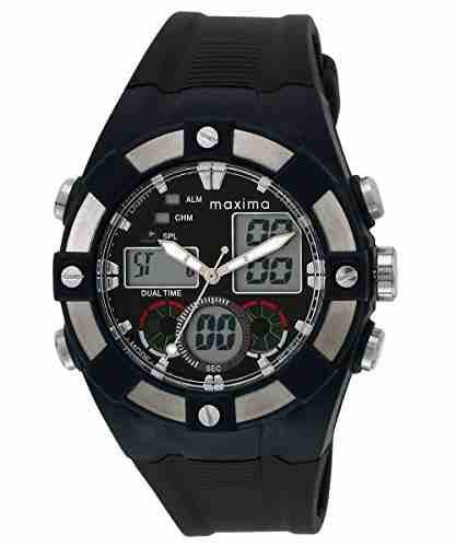 Maxima 28631PPAN Fiber Analog-Digital Watch