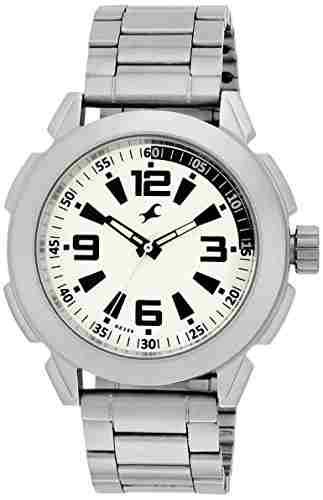 Fastrack NG3130SM01 White Dial Analog Men's Watch