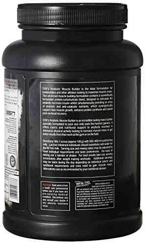 SSN Anabolic Muscle Builder (1Kg, Vanilla)