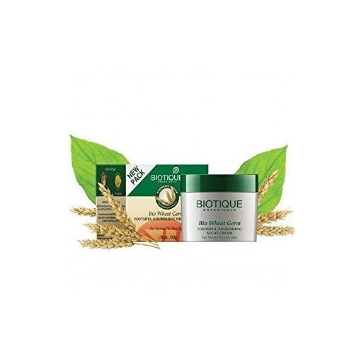 Biotique Wheatgerm Youthful Nourishing Night Cream 50gm