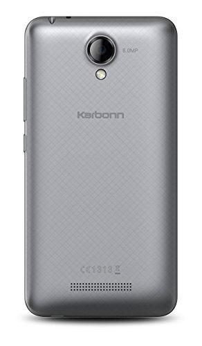 Karbonn Titanium Machfive 16GB Silver Mobile