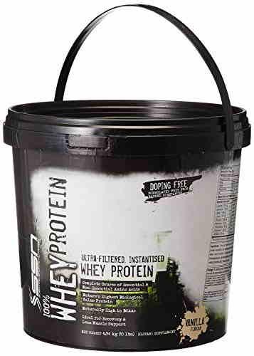 SSN Whey Protein (4.53Kg, Vanilla)