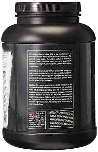 SSN Anabolic Muscle Builder XXXL Supplement (2.49Kg, Vanilla)