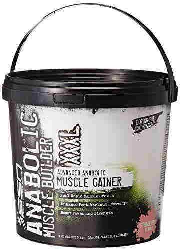 SSN Anabolic Muscle Builder XXXL Supplement (5Kg, Strawberry)