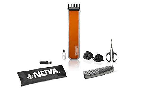 Nova NHT-1055 Pro Skin Advanced Friendly Precision Trimmer, Orange