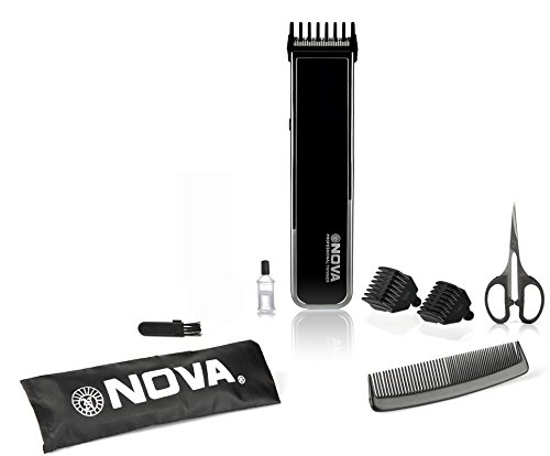 Nova NHT 1055 Pro Skin Advanced Friendly Precision Trimmer, Black