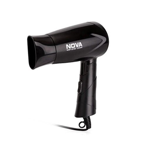 Nova NHP 8100 Silky Shine 1200 W Hot And Cold Foldable NHP 8100 Hair Dryer