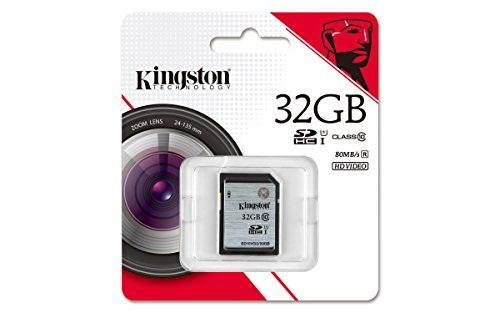 Kingston Digital 32 GB SDHC Class 10 UHS-I Flash Card