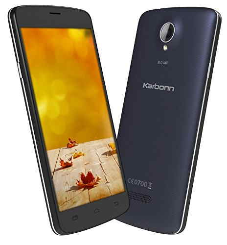 Karbonn Titanium S10 4GB Blue Mobile