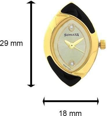 Sonata 70808069YM02C Analog Watch