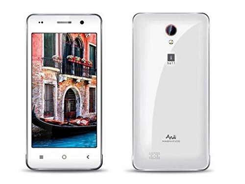 IBall Andi 4P Class X 8GB White&Silver Mobile
