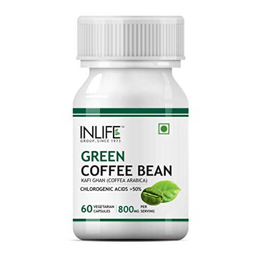 Inlife Green Coffee Bean Extract Supplement (60 Capsules)
