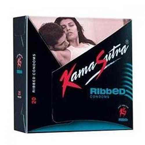 Kamasutra Ribbed Condoms (40 Condoms)