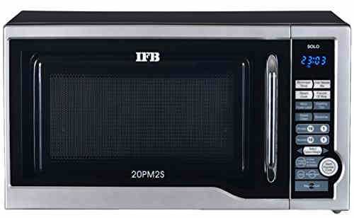IFB S 20PM2S 20 Ltr Solo Microwave Oven Metallic Silver