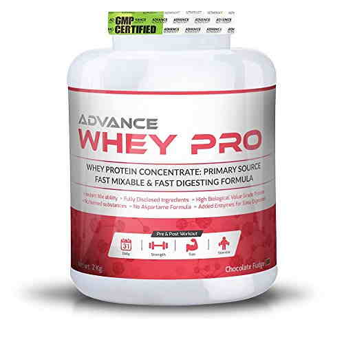 Advance Nutratech Whey Pro Protein Supplement (2Kg, Chocolate)