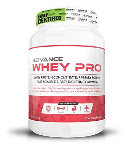Advance Nutratech Whey Pro Protein Supplement (1Kg, Chocolate)