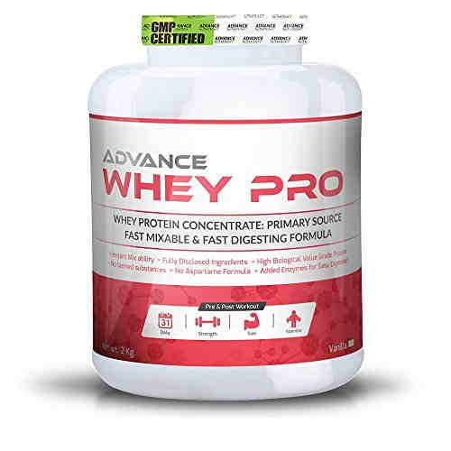 Advance Nutratech Whey Pro Protein Supplement (2Kg, Vanilla)