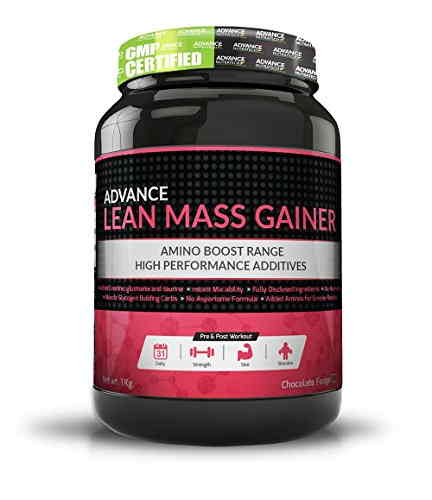 Advance Nutratech Lean Mass Gainer Supplement (1Kg, Chocolate)