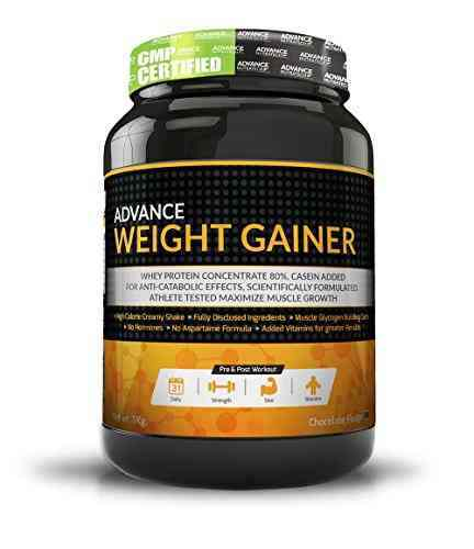 Advance Nutratech Weight Gainer Supplement (1Kg, Chocolate)
