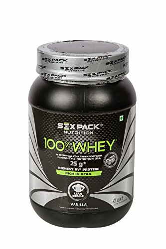 Six Pack Nutrition 100% Whey Protein (1Kg, Vanilla)
