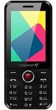 Videocon V1573 2 MB Black Mobile