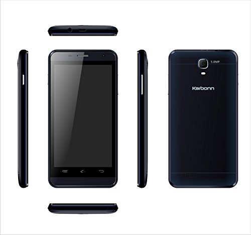 Karbonn Titanium S109 8GB Gold Mobile