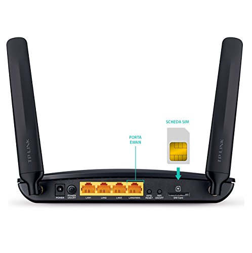 TP-LINK Archer MR200 Wireless Dual Band 4G LTE Router