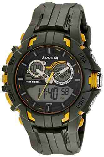 Sonata 77045PP05J Digital Watch