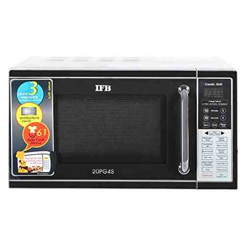 IFB S 20PG4S 20 Ltr Grill Microwave Oven Metallic Silver