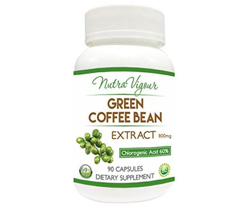 Perennial Lifesciences Green Coffee Bean Extract 60% GCA Dietary Supplement 800mg (90 Capsules)