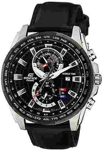 Casio Edifice EFR-550L-1AVUDF (EX264) Analog Black Dial Men's Watch (EFR-550L-1AVUDF (EX264))