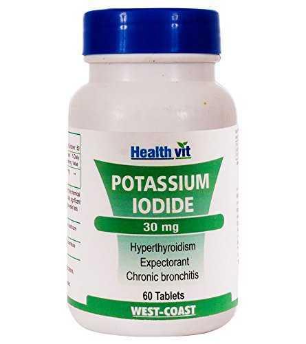 Healthvit Potassium Iodide 30mg (60 Capsules)