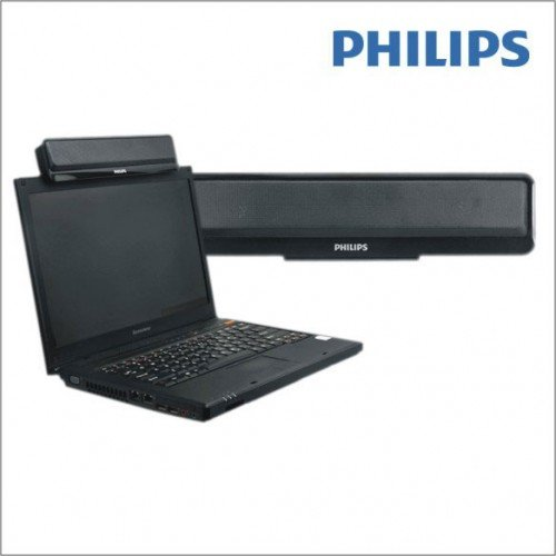 Philips SPA75 Portable Speakers, Black