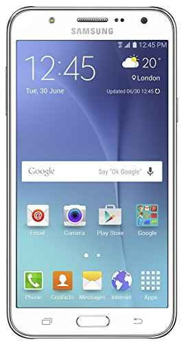 Samsung Galaxy J7 (Samsung SM-J700F) 16GB White Mobile