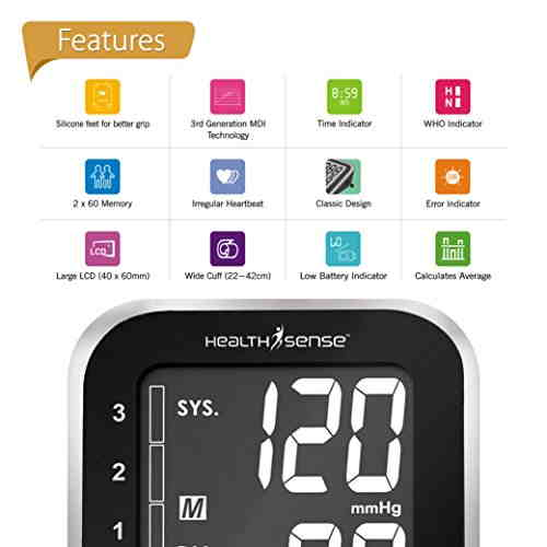 Health Sense BP300 Digital BP Monitor