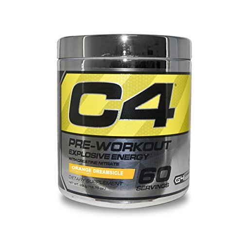 Cellucor C4 Explosive Orange Dreamsicle Pre Workout Supplement (60 Servings)