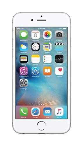 Apple iPhone 6s 64GB Silver Mobile, MKQP2HN/A